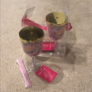 Lilly Pulitzer Set of 2 Sip Cup
